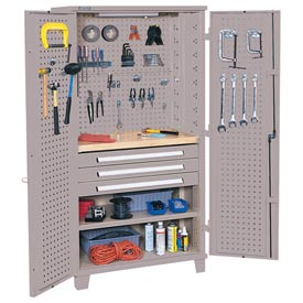 Kennedy® 50301UGY Mini Workshop Cabinet - Gray