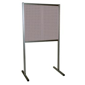 Kennedy Manufacturing 50067UGY 2-Panel Double-Sided Toolboard Stand - Gray