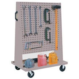 Kennedy Manufacturing 50102UGY Trolley Based for 4-Panel Square Hole Set - Gray