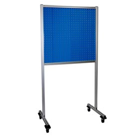 Kennedy Manufacturing 50067UB 2-Panel Double-Sided Toolboard Stand - Blue