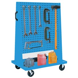 Kennedy Manufacturing 50102UB Trolley Based for 4-Panel Square Hole Set - Blue