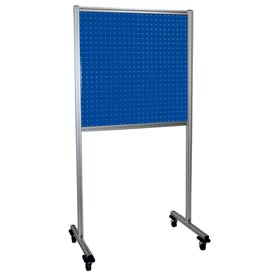 Kennedy Manufacturing 50067BL 2-Panel Double-Sided Toolboard Stand - Classic Blue