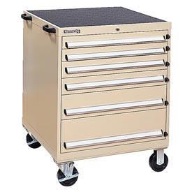 Kennedy® 63350TX 6-Drawer Mobile Modular Cabinet