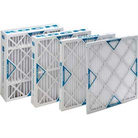 "Koch™ Filter 102-700-001 Merv 8 Std. Capacity Xl8 Pleated Panel Ext. Surface 10""W x 20""H x 1""D - Pkg Qty 12"