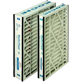 "Koch™ Filter 102-718-202 Multi-Pleat Ab Repl. For Trion Airbear Merv 11 16""W x 25""H x 3""D - Pkg Qty 6"