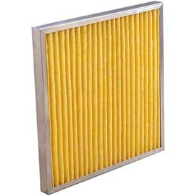 "Koch™ Filter 102-730-013K Multipleat High Temp Oven Filter With Gasket 12""W x 24""H x 4""D - Pkg Qty 6"