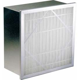 "Koch™ Filter 112-651-004 80-85% No Header Multi-Flo Series S Ext. Surface 12""W x 24""H x 6""D - Pkg Qty 4"