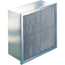 "Koch™ Filter 112-660-001 90-95% SGL Header Multi-Flo Series S Ext. Surface 24""W x 24""H x 12""D"