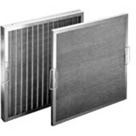 "Koch™ Filter 118-700-013 Permanent Metal Washable Steel Wire Mtl Cloth Media 20""W x 20""H x 4""D - Pkg Qty 6"