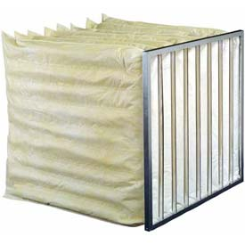"Koch™ Filter 208-107-130 85% Synthetic Extended Surface Multi-Sak, 7 Pkts 24""W x 30""H x 24""D - Pkg Qty 4"