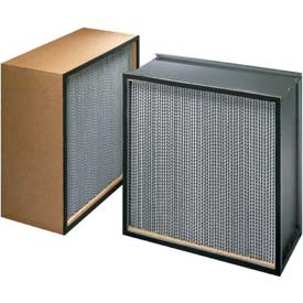 "Koch™ Filter H23A1X1 99.97% BioMAX HEPA Galv. Steel/Double Turned Flange 30""W x 30""H x 5-7/8""D"