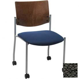 chairs restaurant chairs kfi armless guest chair with casters
