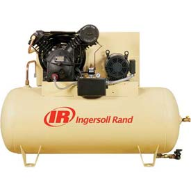 Ingersoll Rand Two-Stage Electric Air Compressor 7100E15-P-200-3, 200V, 15HP, 3PH, 120 Gal