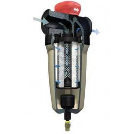 Ingersoll Rand High Efficiency Oil Removal Filter, 233 CFM