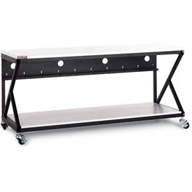 "Kendall Howard™ 72"" Performance Work Bench With Full Bottom Shelf No Upper Shelving"