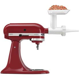 KitchenAid® Sausage Stuffer Kit - Use with Food / Meat Grinder Attachment - SSA