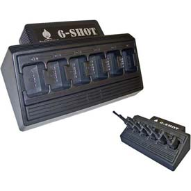 6-Shot 6-Unit Battery Charger for Motorola Radios by