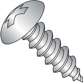 #6 x 7/16 Phillips Full Contour Truss Self Tapping Screw Type A Full Thread 18-8 Stainless,5000 pcs by