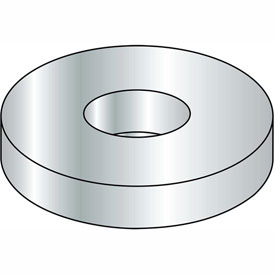 #8 Flat Washer Steel Zinc SAE Package of 50 Lbs. by