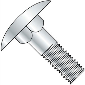 5/16-18X1  Step Bolt Zinc, Pkg of 400