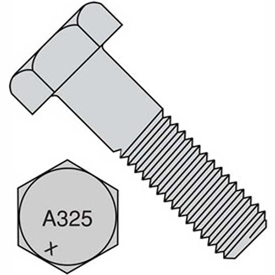 5/8-11X2  Heavy Hex Structural Bolts A325-1 Plain, Pkg of 200