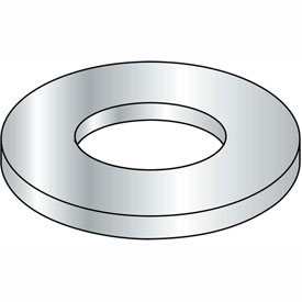 M10 Din 1 2 5 A Metric Flat Washer Zinc, Package of 2000 by