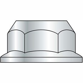M6-1 Din 6923 Metric Class 10 Hex Flange Nut Zinc, Package of 3000 by