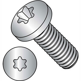 M4-.7X10  ISO7045 Metric 6 lobe T 20 Pan Head Machine Screw 18 8 Stainless Steel, Pkg of 1000