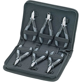 Click here to buy KNIPEX 00 20 17 6 Pc Electronic Pliers Set Esd.