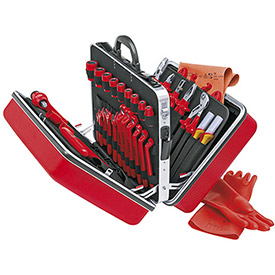 KNIPEX 98 99 14 48 Pc Universal Tool Set-1,000V Insulated by