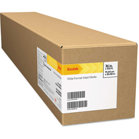 """Click here to buy Kodak Rapid-Dry Self-Adhesive Glossy Poly Poster KRDSAGP42, 42"""" x 100', White, 1 Roll."""