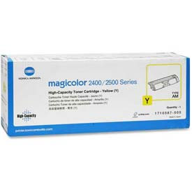 Konica Minolta Toner Cartridge 1710587-005, Yellow