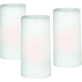 "Kenroy Lighting, Battery LED Candle Set, 32029CAN, Natural Wax, 3""L by"
