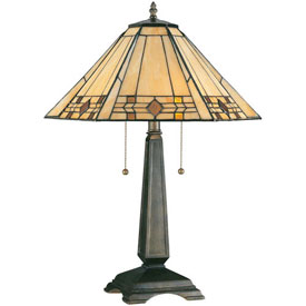 "Kenroy Lighting, Willow Table Lamp, 33040BRZ, Bronze Finish, Resin, 18""L by"