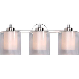 Lighting Fixtures - Indoor Vanity Lighting Kenroy Lighting, Orienta 3 Light Vanity, 93493PN ...
