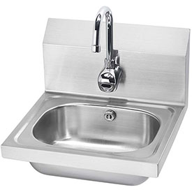 "Krowne HS-11 16"" Wide Hand Sink with Electronic Faucet by"