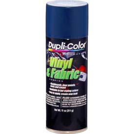 Dupli-Color® Vinyl And Fabric Coating Medium Blue 11 Oz. Aerosol - HVP112 - Pkg Qty 6