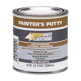 White Lightning® Painter'S Putty - 1 Qt. - WL08116 - Pkg Qty 6