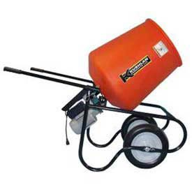 Kushlan Products 350DDS Unassembled Direct Drive Cement Mixer w/ Stand by
