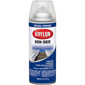 Krylon Non Skid Coating Clear, 11 oz. Aerosol Can - K03400 - Pkg Qty 6