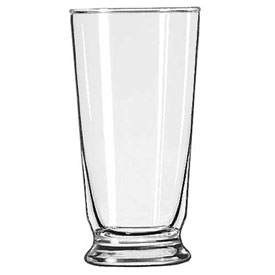 Libbey Glass 1452HT Soda Glass 14 Oz., Glassware, Footed, 36 Pack by