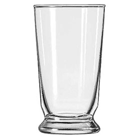 Libbey Glass 1454HT Beverage Glass Heat Treated 9 Oz., Footed, 36 Pack by
