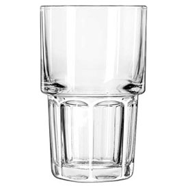 Libbey Glass 15654 Beverage Glass 12 Oz., Gibraltar Clear, 36 Pack by