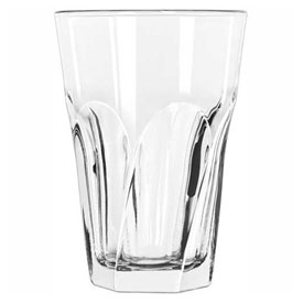 Libbey Glass 15755 Beverage Glass 10 Oz., Glassware, Gibraltar Twist, 12 Pack by
