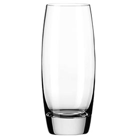 Libbey Glass 2294SR Beverage Glass 12 Oz., Glassware, Envy Sheer-Rim/D.T.E., 12 Pack by
