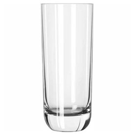 Libbey Glass 2295SR Beverage Glass 14 Oz., Glassware, Envy Sheer-Rim/D.T.E., 12 Pack by