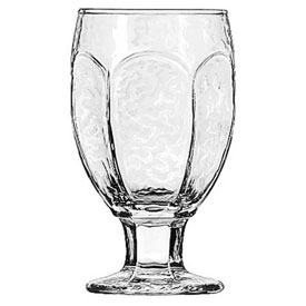 Libbey Glass 3211 Glass 10.5 Oz., Chivalry Goblet, 24 Pack by