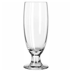 Libbey Glass 3725 Beer Glass, Stem Embassy 12 Oz., 36 Pack by