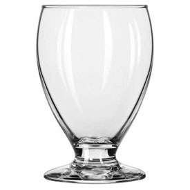 Libbey Glass 3908 Teardrop Beer Glass 10.25 Oz., Glassware, Footed Beers, 24 Pack by