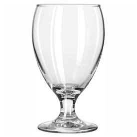 Libbey Glass 3914 Glass Goblet Teardrop 10.5 Oz., 36 Pack by